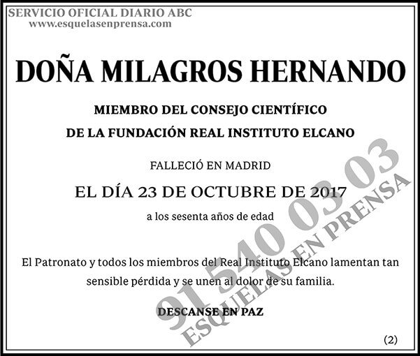Milagros Hernando